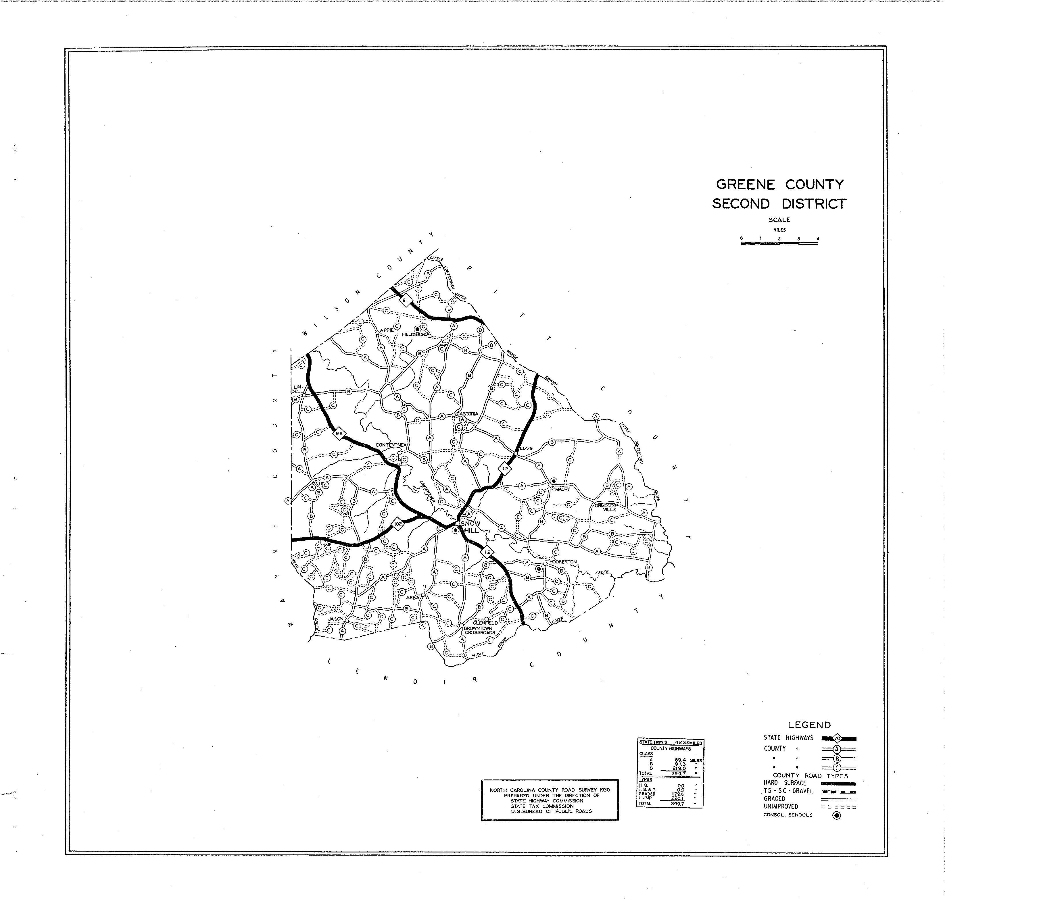 Greene County Maps